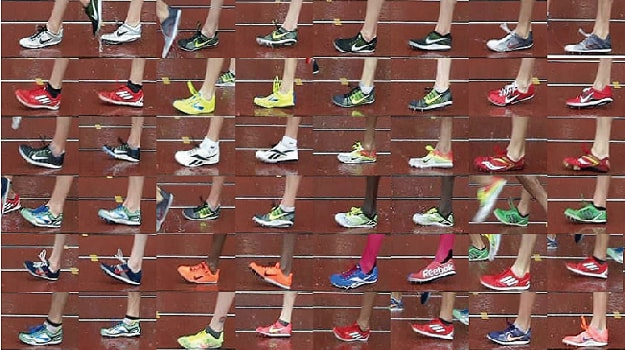 S Olympic Trials - Men's 10K (2012) | Images captured by BYU Biomechanics Lab - Dr. Iain Hunter