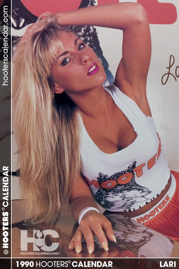 Lari 1990 The 50 Hottest Hooters Calendar Girls Of All