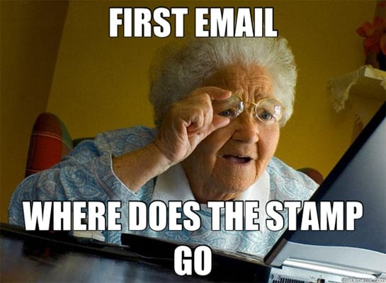 Funny Meme Emails : First email the funniest grandma finds