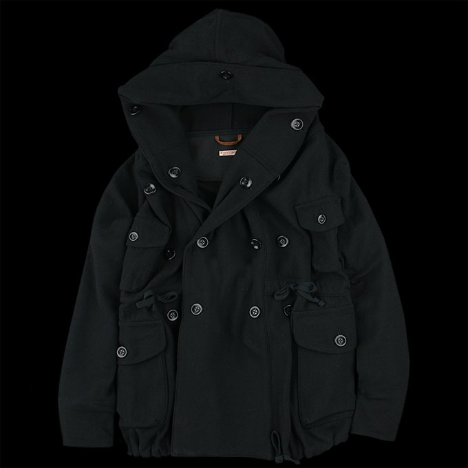 Black Kapital Ring Coat