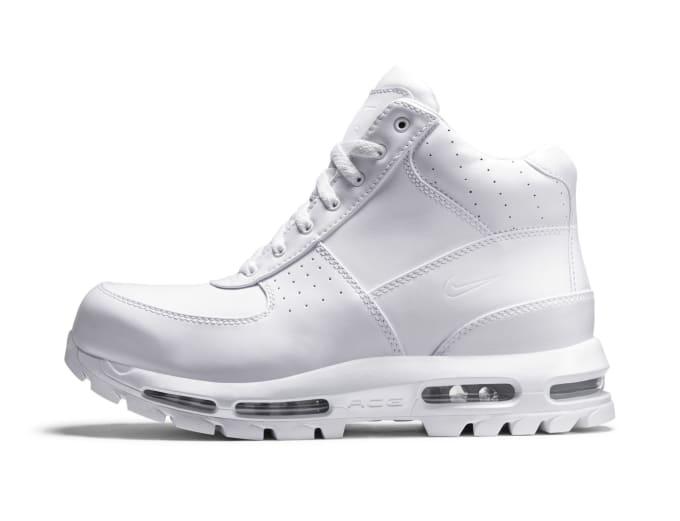 nike acg air max goadome white boots