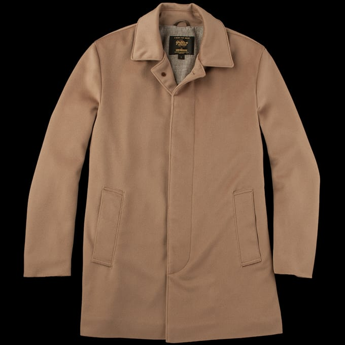 Golden Bear Loro Piana Camel Wool Coat