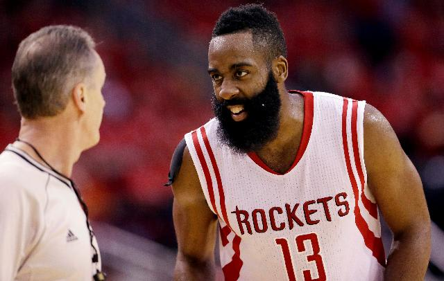 43c15a2467ad adidas Says James Harden Has to Stop Wearing Air Jordans