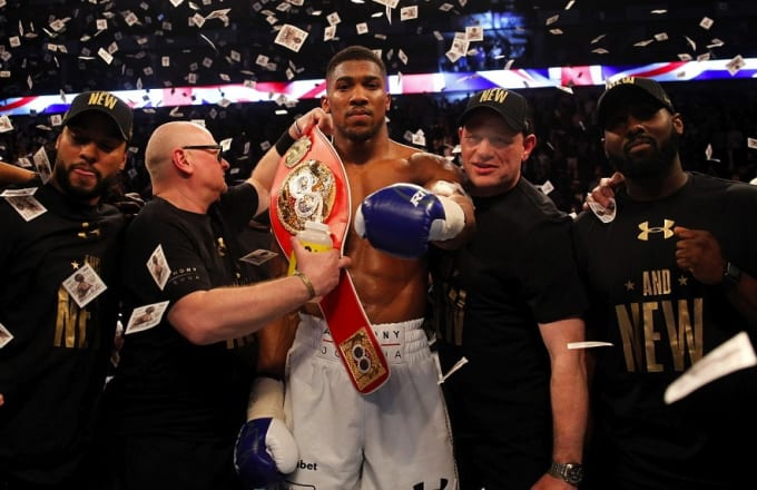 2fb5c0058cc9 Anthony Joshua Wants to Emulate Muhammad Ali and Bring a World Heavyweight  Title Fight to Africa