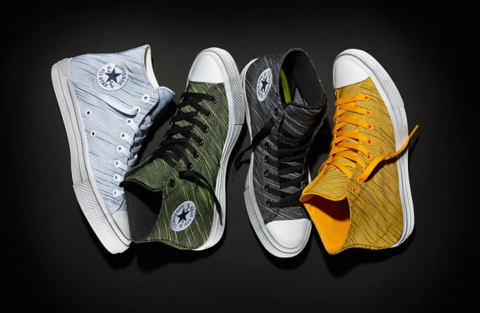 ac0a16a28d96 The festival-inspired Converse Chuck Taylor All Star II Knit ...