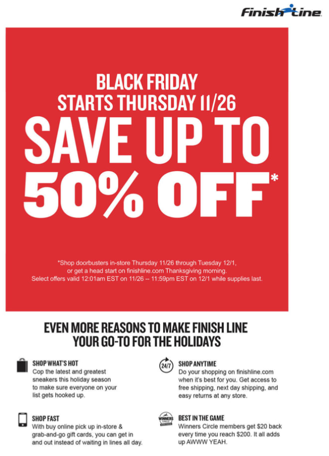 903ef4c029b Black Friday and Cyber Monday Sneaker Sales