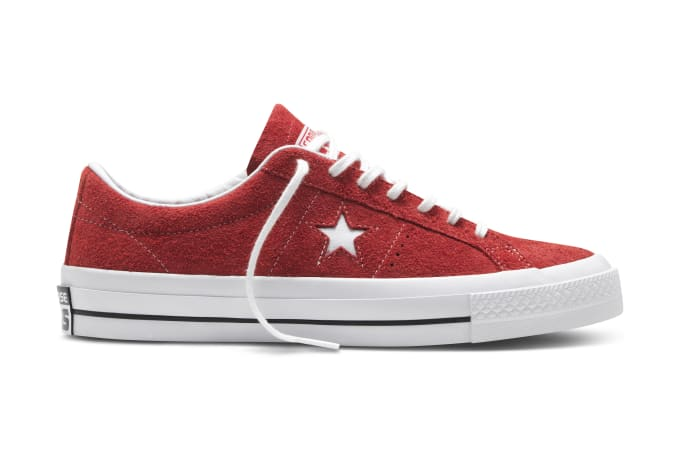 8faaaeabac80 Converse One Star Hairy Suede Offers a New Take on an Old School ...