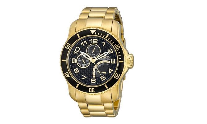 Invicta Pro Diver 18k Gold Watch