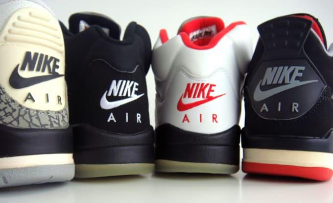 nike air jordans collection