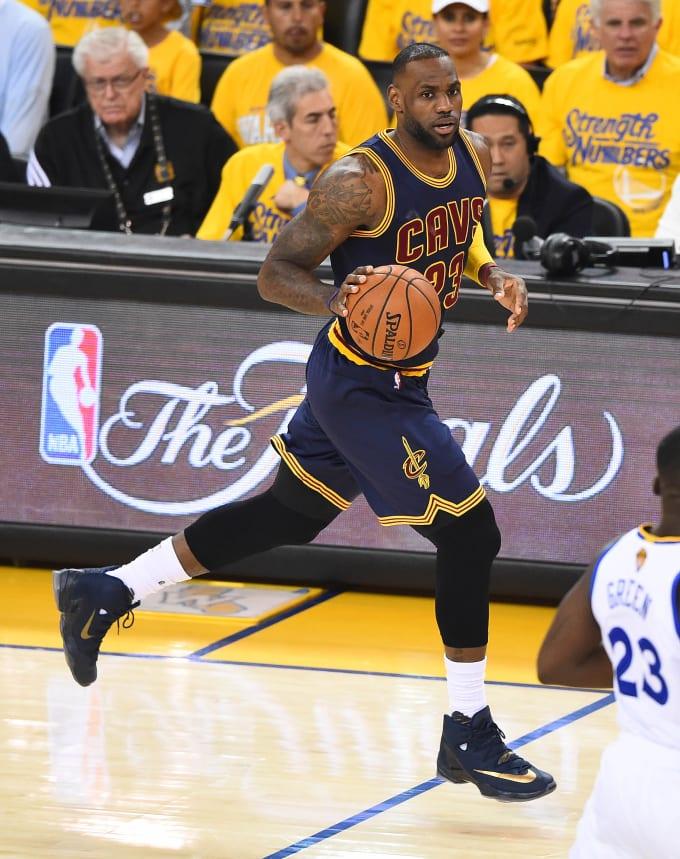 0753994e024c Nike LeBron 13 Elite PE. Player  LeBron James Game  2