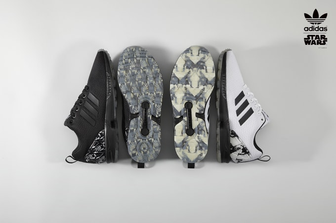 promo code 677fb cdfa3 adidas Takes One of Its Most Popular Sneakers to a Galaxy Far, Far Away.