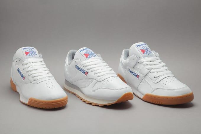 2faa755ebb8 Reebok White Gum Collection 2015
