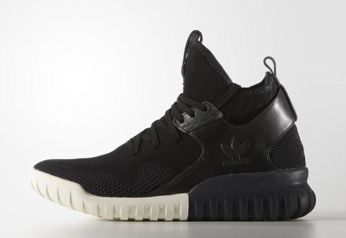 Adidas Tubular X Knit Black