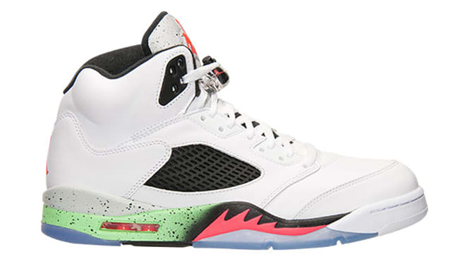 Image via Finish Line. There was supposed to be an Air Jordan V release  tomorrow on Nike Store ... 5f8d0efb2bd1
