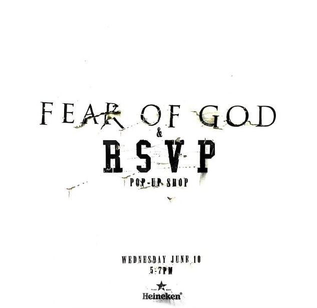 d639b172d9da RSVP Gallery is Hosting a Fear of God Vintage Tee Pop-Up Shop