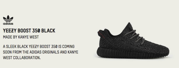 Here s adidas  Official List of Retailers Receiving the Black Yeezy Boost  350 c309e8e19