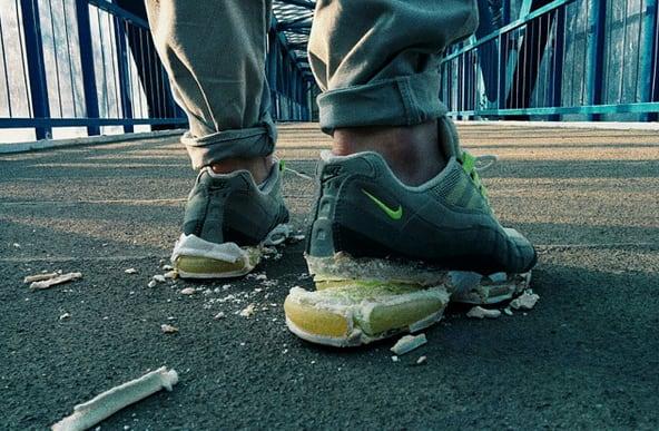 pretty nice e7bff 2ca1f ... denim djrioblog  Nike Air Max 95 ...