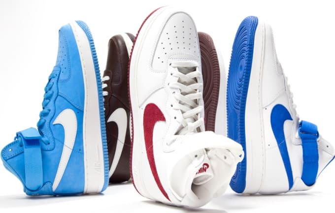 """Nike Air Force 1 """"Color of the Month"""" Pack"""