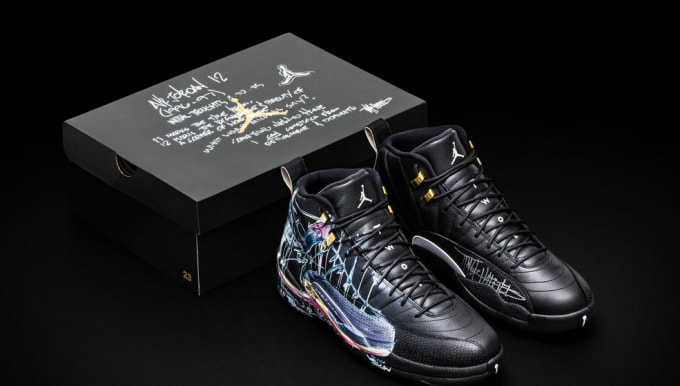 8c17a23bb4cf Nike Made Exclusive Air Jordan XIIs For the Doernbecher Children s ...
