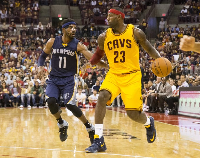 726d23497db LeBron James Played In a PE Colorway of His New Nike Sneaker