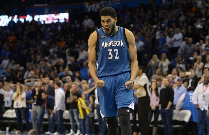 669e1c7794e Karl-Anthony Towns Is the Unanimous Rookie of the Year. Of Course ...