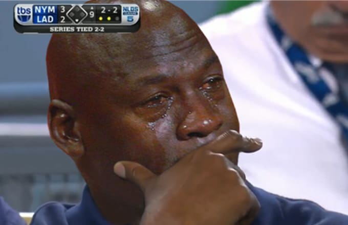 There Is Now a Cutout 'Michael Jordan Crying Face ...