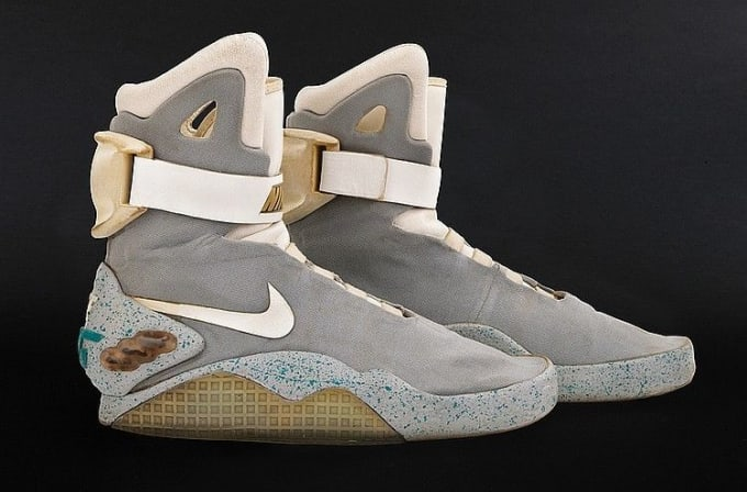 c0dc08ab88c Here s a Chance to Own O.G. Nike Mags Worn by Marty McFly Himself