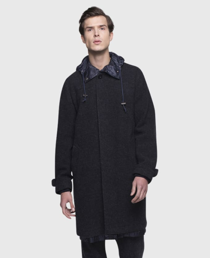 Sacai Reverisble Wool Coat