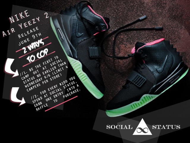 38d43fdf4f024 NRML - A List of All The Sneaker Stores Getting The Nike Air Yeezy ...
