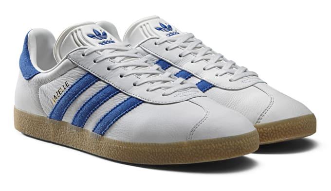 a723e354a4e Adidas Gazelle Full Grain Leather