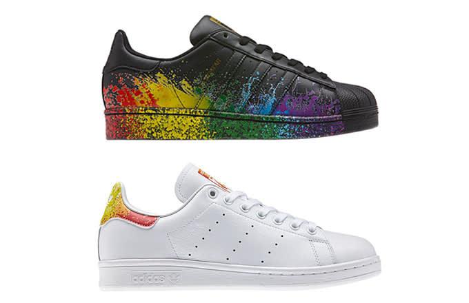 6492ec7ea0ad1 adidas Originals Unveiled New Pride Sneakers for 2016