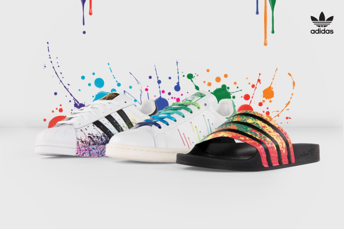 online retailer 8f688 db88a adidas Celebrates LGBT Pride Month With This Limited Collection
