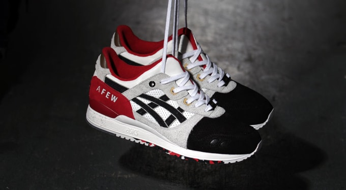 ae4636e0ce3d Image via Afew. As the ASICS Gel Lyte III s 25th anniversary rolls on ...