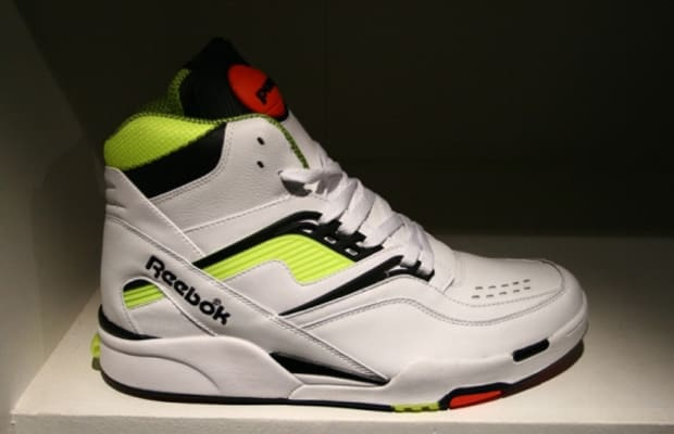 retro reebok pump basketball shoes