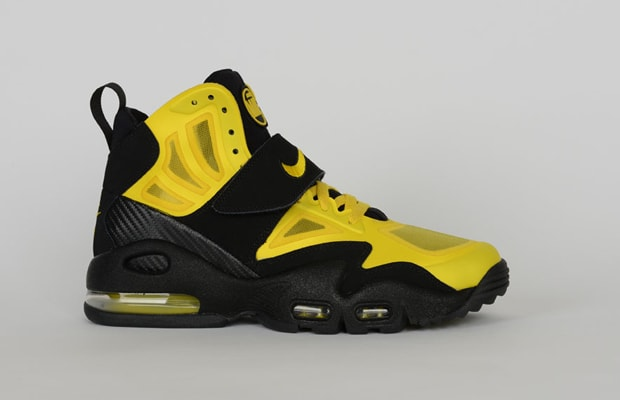 nike air griffey max 2 black and yellow