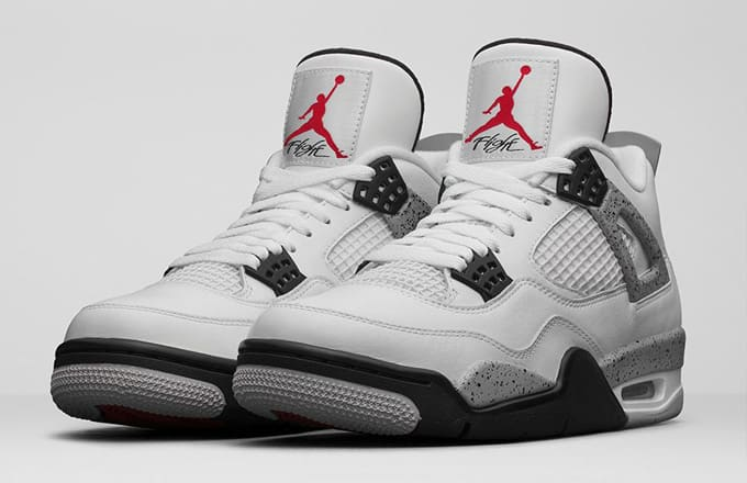 air jordan 4 white cement restock meaning