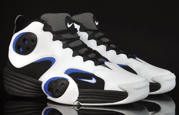 lebron james shoes blue and grey barkley sneakers 1995