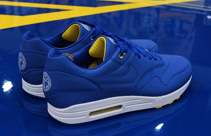 Andre Iguodala Designed a Nike Air Max 1 Bespoke and You Can Own a Pair a0f49f048e5b