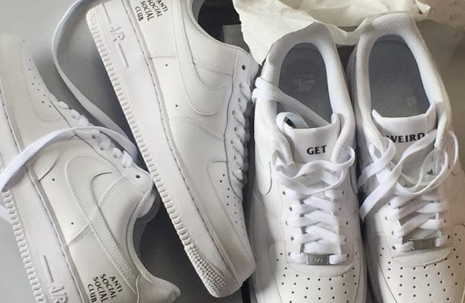 best sneakers 4e32b bc24f Does Anti Social Social Club Have a Nike Air Force 1 Collaboration on the  Way