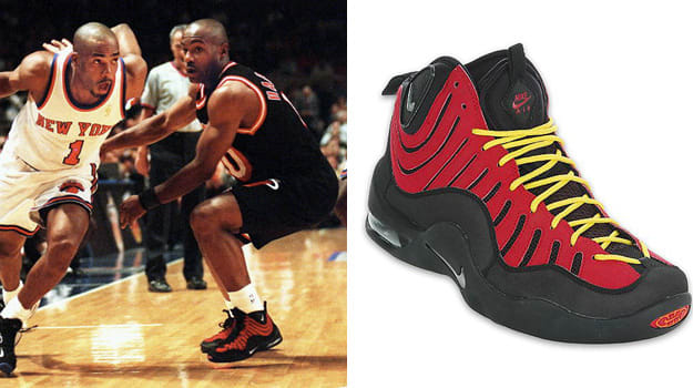 Today in Performance Sneaker History  Tim Hardaway Holds off Knicks ... 0e314c2ae