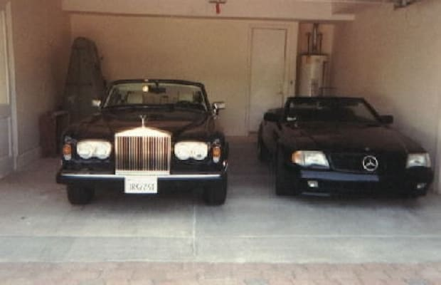 Tha outlawz late 39 90s mercedes benz 500sl convertible for 90s mercedes benz