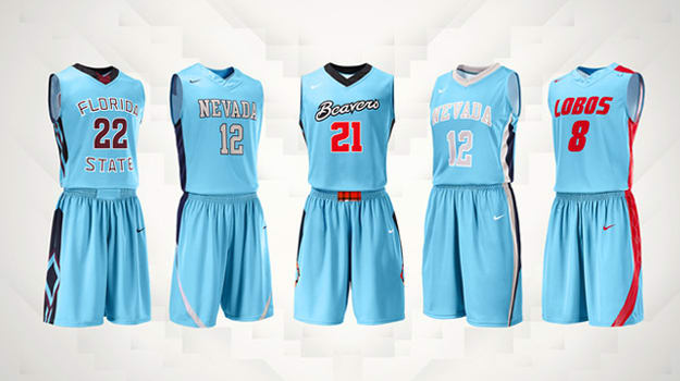 Nike N7 Basketball Uniforms