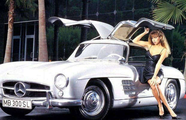 Mercedes Benz Okc >> 1955 Gullwing Mercedes-Benz 300SL - 25 Photos of Hot Girls ...