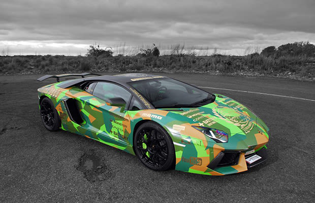 Lamborghini Aventador - 25 Awesome Cars From the Gumball ...