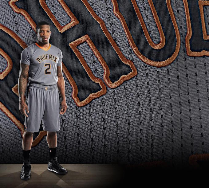 The Phoenix Suns Unveil New Alternate Uniforms With the Same Sleeves ... aa01ba09f