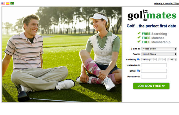 Golf mates dating sites