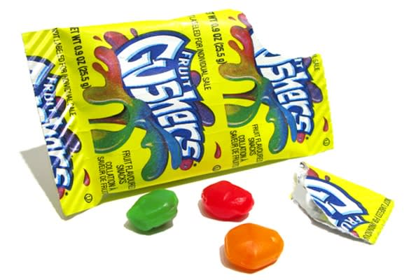 fruit gushers ninja fruit