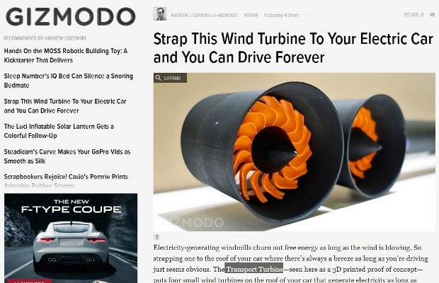 Screencap From Gizmodo