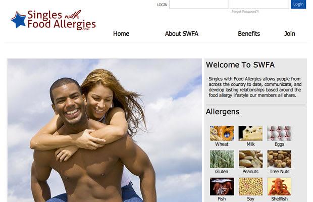 dating website for food allergies
