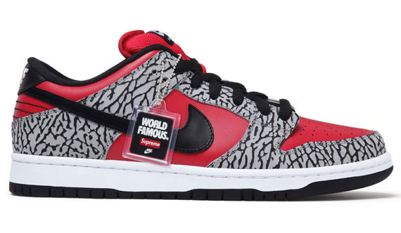 on sale 52ec3 11603 After receiving a preview months back, we now have an official drop date to  coincide with the much-anticipated Supreme x Nike SB Dunk Lows.